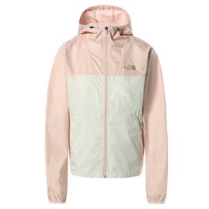 Dámská bunda The North Face Cyclone Jacke Velikost: S / Barva: růžová/bílá