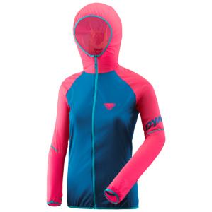 Dámská bunda Dynafit Alpine Wind 2 W Jkt Velikost: S / Barva: modrá/růžová