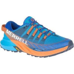 Pánské běžecké boty Merrell Agility Peak 4 Velikost bot (EU): 44,5 / Barva: modrá/oranžová
