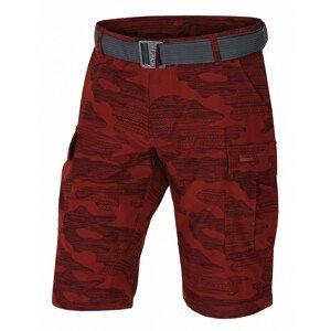 Pánské kraťasy Husky Kalfer M Velikost: L / Barva: červená