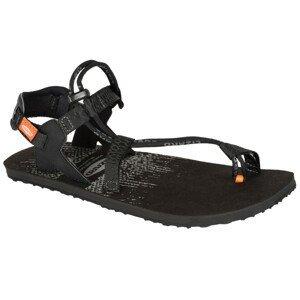 Panské sandály Lizard Fly Velikost bot (EU): 42 / Barva: černá