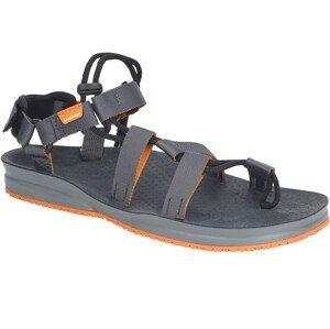 Sandály Lizard Hex H2O Velikost bot (EU): 44 / Barva: šedá/oranžová