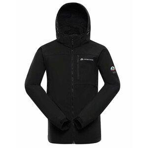 Pánská bunda Alpine Pro Nootk 8 Velikost: XXL / Barva: černá