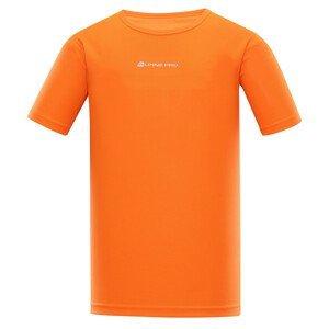 Pánské triko Alpine Pro Nasmas 3 Velikost: S / Barva: oranžová