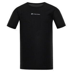 Pánské triko Alpine Pro Nasmas 3 Velikost: XXL / Barva: černá