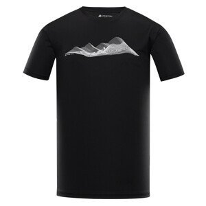 Pánské triko Alpine Pro Quart 2 Velikost: L / Barva: černá