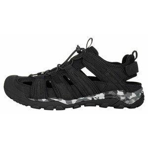 Pánské sandály Alpine Pro Horade Velikost bot (EU): 46 / Barva: černá