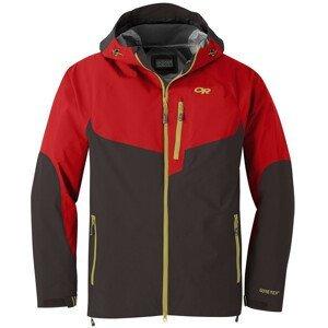 Pánská bunda Outdoor Research Hemispheres Jacket Velikost: S / Barva: červená/hnědá