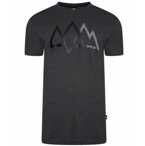 Pánské triko Dare 2b Allusion Tee Velikost: L / Barva: černá