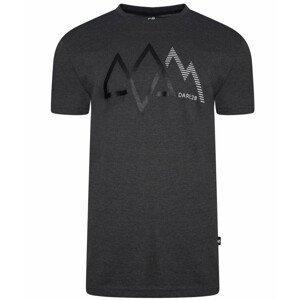 Pánské triko Dare 2b Allusion Tee Velikost: XL / Barva: černá