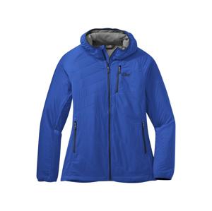 Dámská bunda Outdoor Research Refuge Air Hoodie Velikost: XL / Barva: modrá