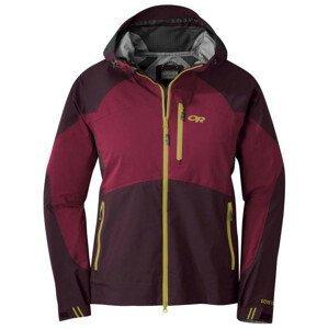 Dámská bunda Outdoor Research Hemispheres Jacket Velikost: XL / Barva: červená