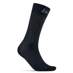 Ponožky Craft Core Endure Bike Velikost ponožek: 37-39 / Barva: modrá