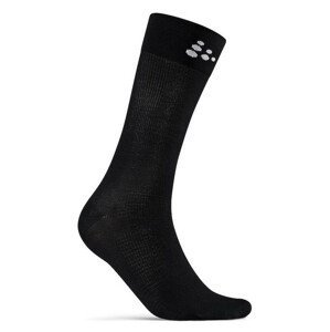 Ponožky Craft Core Endure Bike Velikost ponožek: 40-42 / Barva: černá
