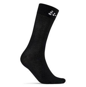 Ponožky Craft Core Endure Bike Velikost ponožek: 43-45 / Barva: černá