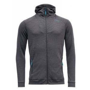 Pánská mikina Devold Aksla Man Jacket W/Hood Velikost: M / Barva: šedá