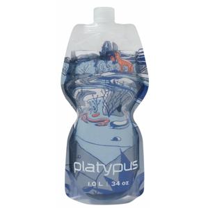 Láhev Platypus Softbottle 1L Closure cap Barva: světle modrá