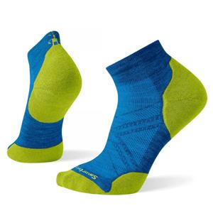 Pánské ponožky Smartwool Phd Run Light Elite Low Cut Velikost ponožek: 42-45 / Barva: modrá/zelená