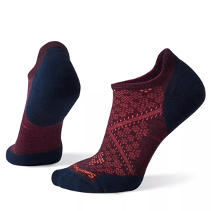 Dámské ponožky Smartwool Phd Run Light Elite Micro Velikost ponožek: 38-41 / Barva: modrá/fialová