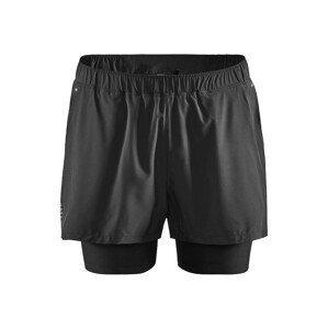 Pánské šortky Craft Adv Essence 2V1 Velikost: M / Barva: černá