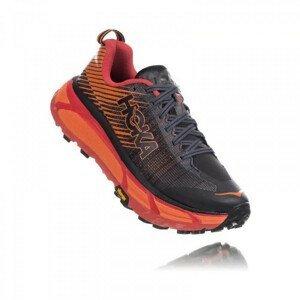 Pánské běžecké boty Hoka One One Evo Mafate 2 Velikost bot (EU): 47 (1/3) / Barva: černá/oranžová