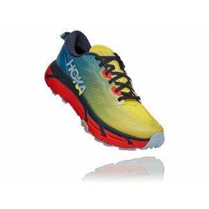 Pánské běžecké boty Hoka One One Mafate Speed 3 Velikost bot (EU): 44 (2/3) / Barva: modrá/žlutá
