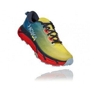 Pánské běžecké boty Hoka One One Mafate Speed 3 Velikost bot (EU): 46 (2/3) / Barva: modrá/žlutá