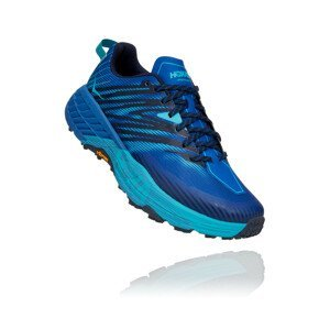 Pánské běžecké boty Hoka One One Speedgoat 4 Velikost bot (EU): 46 / Barva: šedá/žlutá