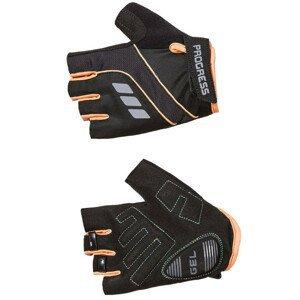 Cyklistické rukavice Progress R CALAMITA MITTS 37CO Velikost: M / Barva: černá/oranžová