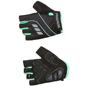 Cyklistické rukavice Progress R CALAMITA MITTS 37CO Velikost: XS / Barva: černá/modrá