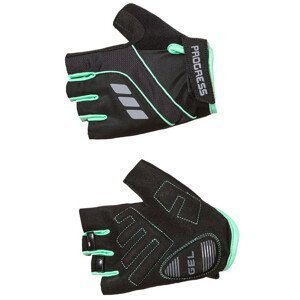 Cyklistické rukavice Progress R CALAMITA MITTS 37CO Velikost: S / Barva: černá/modrá