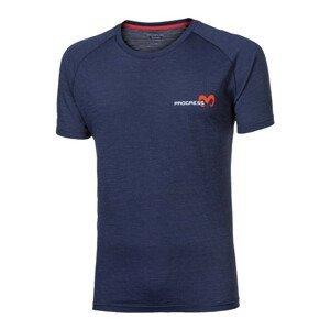 Pánské triko Progress OS ARIES 24MU Velikost: XL / Barva: tmavě modrá