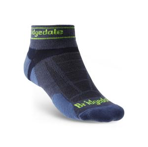 Ponožky Bridgedale Trail Run UL T2 MS Low Velikost ponožek: 40-43 / Barva: modrá