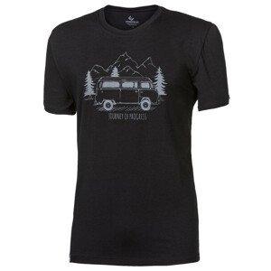 "Pánské triko Progress OS PIONEER ""BULLI""24FO Velikost: L / Barva: černá"