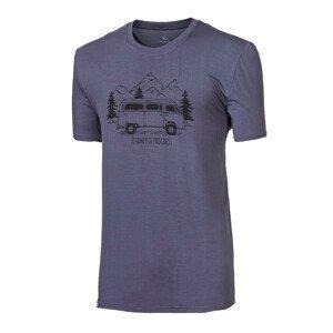 """Pánské triko Progress OS PIONEER """"BULLI""""24FO Velikost: L / Barva: šedá"""