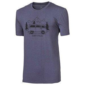 "Pánské triko Progress OS PIONEER ""BULLI""24FO Velikost: XXL / Barva: šedá"