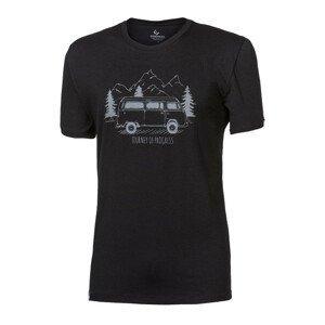 "Pánské triko Progress OS PIONEER ""BULLI""24FO Velikost: M / Barva: černá"