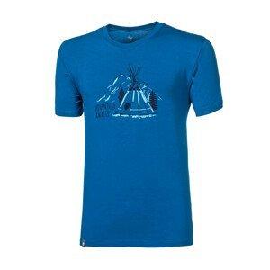 """Pánské triko Progress OS PIONEER """"TEEPEE""""24FN Velikost: M / Barva: modrá"""