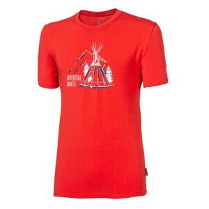 "Pánské triko Progress OS PIONEER ""TEEPEE""24FN Velikost: M / Barva: červená"