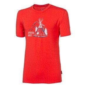 """Pánské triko Progress OS PIONEER """"TEEPEE""""24FN Velikost: XXL / Barva: červená"""