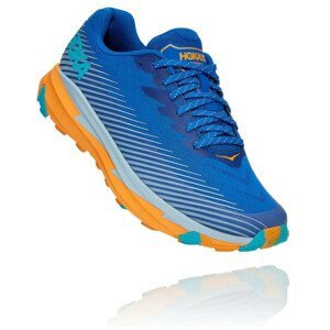 Pánské běžecké boty Hoka One One Torrent 2 Velikost bot (EU): 44 / Barva: modrá/oranžová