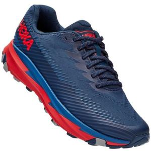 Pánské běžecké boty Hoka One One Torrent 2 Velikost bot (EU): 46 (2/3) / Barva: modrá/oranžová
