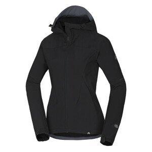 Dámská softshellová bunda Northfinder Gimena Velikost: L / Barva: černá