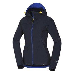 Dámská softshellová bunda Northfinder Gimena Velikost: M / Barva: modrá
