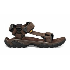 Pánské sandály Teva Terra Fi 5 Leather Velikost bot (EU): 42,5 / Barva: hnědá