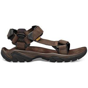 Pánské sandály Teva Terra Fi 5 Leather Velikost bot (EU): 48,5 / Barva: hnědá