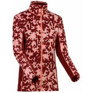 Dámská bunda Kari Traa Bruse Fleece Velikost: S / Barva: růžová