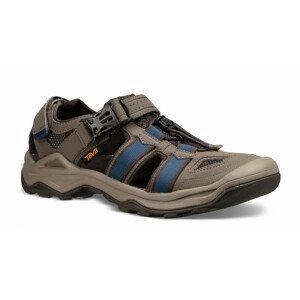 Pánské sandály Teva Omnium 2 Velikost bot (EU): 41,5 / Barva: šedá/modrá