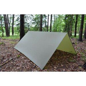 Přístřešek Warmpeace Shelter Tarp Barva: tmavě zelená