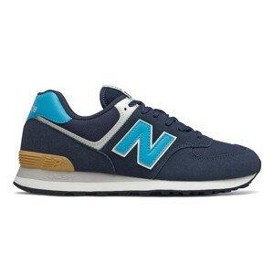 Pánské boty New Balance ML574M Velikost bot (EU): 45,5 / Barva: modrá